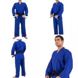 Kimono Trançado Training Judô / Jiu-Jitsu Torah - Azul - JR