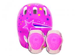 Kit de Proteção ACTE Infantil A61-R - Rosa