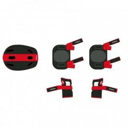Kit de Proteção Infantil vermelho/Preto - Original