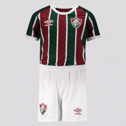 KIT do Fluminense I 20/21 Umbro - Infantil