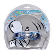 Kit Infantil Touca Óculos Hammerhead Fun Set - Cinza