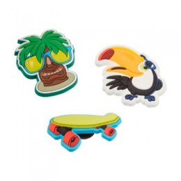 Kit Jibbitz Broche Island Fun Original - Crocs