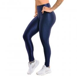 Legging Selene 3D  Fitness Feminino - Azul