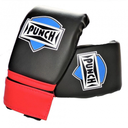 Luva Bate Saco Velcro - Punch