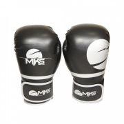 Luva Boxe Champions Fit Mks - Preta / Prata