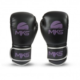 Luva Boxe Energy Mks - Preto / Roxo