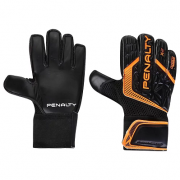 Luva Penalty Delta Training X - grip - Preto / Laranja