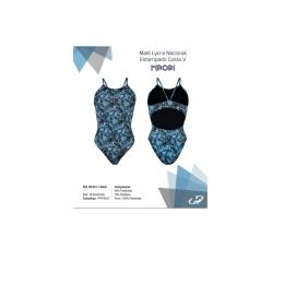 Maiô Hammerhead  Elastano  Nacional Aberto - Azul