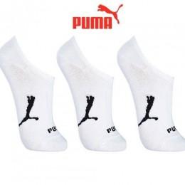 Meia Puma Sapatilha Kit 3 Pares- Branco 39-43