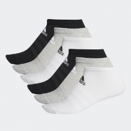 Meia Adidas Low-Cut 6 pares 41- 43