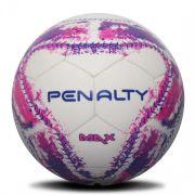 Mini Bola Penalty Max IX - Branca / Rosa