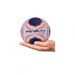 Mini Bola Penalty T50 S11 X - Branco e Azul