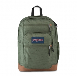 Mochila Jansport Cool Student - Muted green Plain Weave - 34L