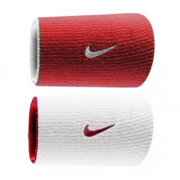 Munhequeira Dupla Nike - Vermelha \ Branca