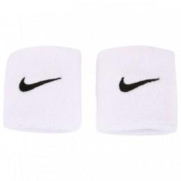 Munhequeira Peq Swoosh Wristband Nike - Branco