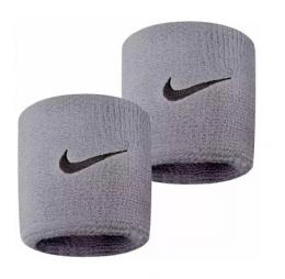Munhequeira Peq Swoosh Wristband Nike Cinza - R1
