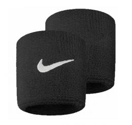 Munhequeira Peq Swoosh Wristband Nike Preto - R1