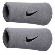 Munhequeira Swoosh double Wristband  Nike - Cinza