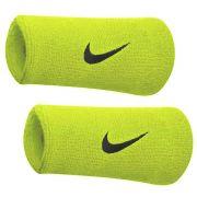 Munhequeira Swoosh double Wristband Nike - Verde