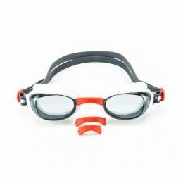 Óculos de Natação Hammerhead Viper - Preto / vermelho / branco / Fumê