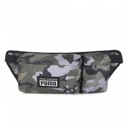 Pochete Puma academy multi walst bag - camuflada