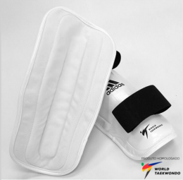 Protetor De Canela Adidas Taekwondo Ultimate - Branco