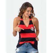Regata Braziline Flamengo Feminina React