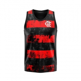 Regata Braziline Flamengo Rent Plus Size - Masculino