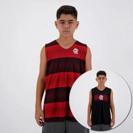 Regata Braziline Flamengo Smell - Infantil - Masculina