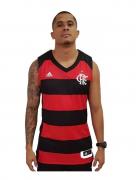 Regata Flamengo Basquete Home Adidas 18/19