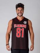 Regata Flamengo Braziline Masculina Drive - Vermelha