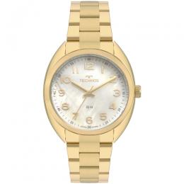 Relógio Technos Dourado Elegance 2036MLA/4X