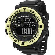 Relógio Technos Plastico Pulseira Plastica Digital MOM1131B/8P
