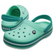 Sandália Crocs Crocband Adulto Tropical Teal
