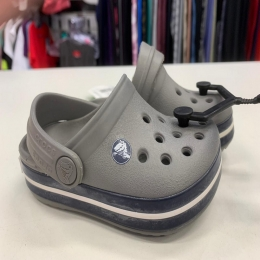 Sandália Crocs Infantil Crocband - Smoke/Navy