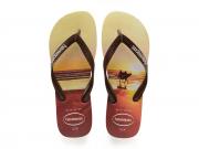 Sandália Havaiana Hype Surf Marrom