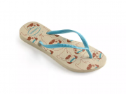 Sandália Havaiana Pets Cachorrinho Tira Azul