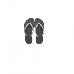 Sandália Havaiana Slim Pop-Up Logo Preta\Prata 39-40