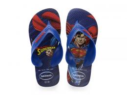 Sandália Havaiana Super Homem Kids