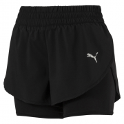 Short Puma Keep Up Feminino 2 in 1 - Original