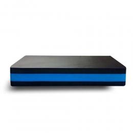 Step Acte Eva 60X30X10 Cm - Preto\Azul