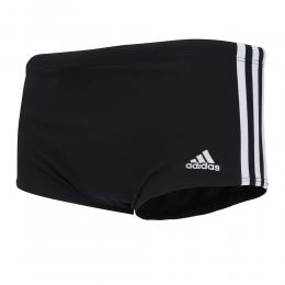 Sunga Adidas 3-Stripes Wide - Preto / Branca