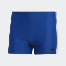 Sunga Adidas Boxer 3-Stripes - Azul / Branco