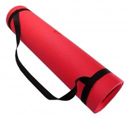 Tapete Acte Yoga Mat exercício - Vermelho