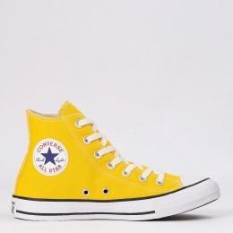 Tênis Cano Alto Converse All Star Chuck Taylor - Amarelo