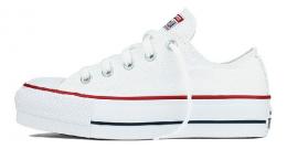 Tênis Converse All Star Chuck Taylor Plataforma  - Branco