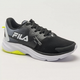Tênis Fila Racer Motion -  Preto e branco
