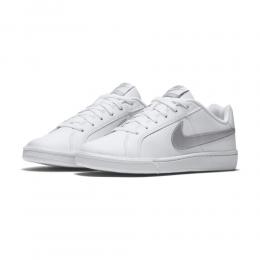 Tênis Nike Court Royale AC - Feminino - Branco e Prata