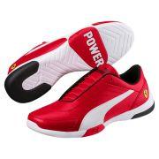 Tênis Puma Scuderia Ferrari Kart Cat III - Vermelho e Branco