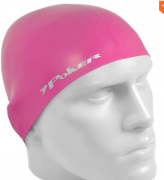 Touca Natação Poker Silicone Power Adulto - Rosa